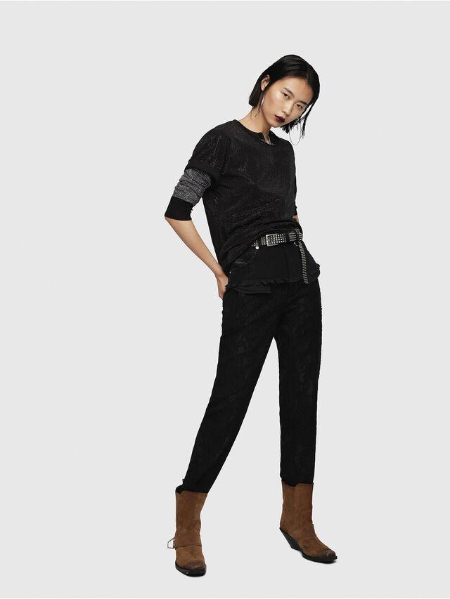 Diesel - P-MARU, Black - Pants - Image 5