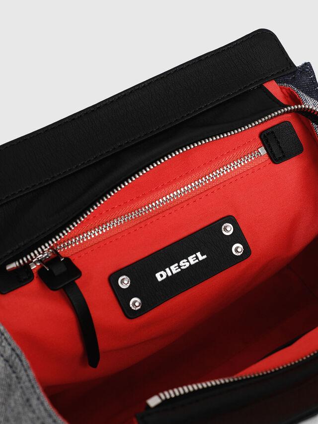 Diesel - F-DESTAR SATCHEL M, Blue/Black - Shopping and Shoulder Bags - Image 4
