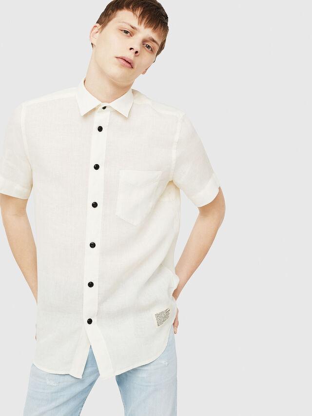 Diesel - S-KIRUMA, White - Shirts - Image 1