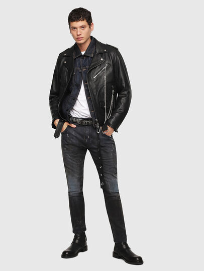 Diesel - CL-L-KIOV,  - Leather jackets - Image 5