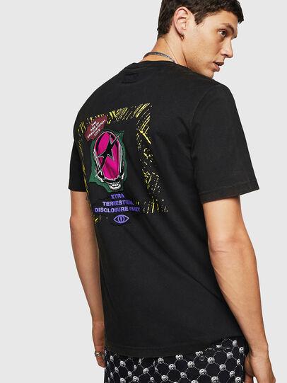 Diesel - T-JUST-B30, Black - T-Shirts - Image 3