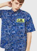 S-FRY-NP, Blue - Shirts