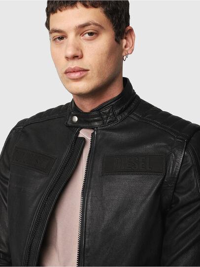 Diesel - L-YUJA,  - Leather jackets - Image 5