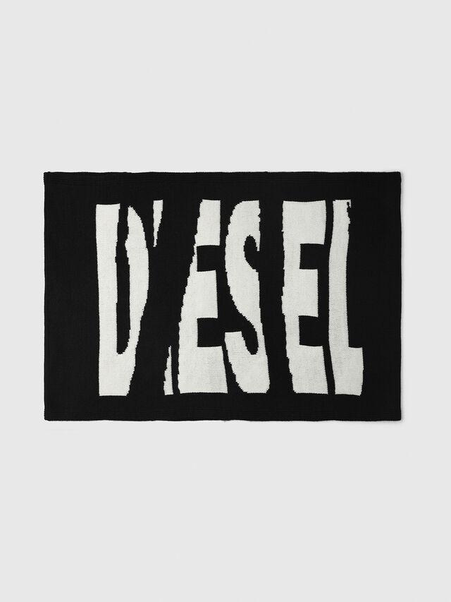 Diesel - K-TEST, Black/White - Scarf - Image 1