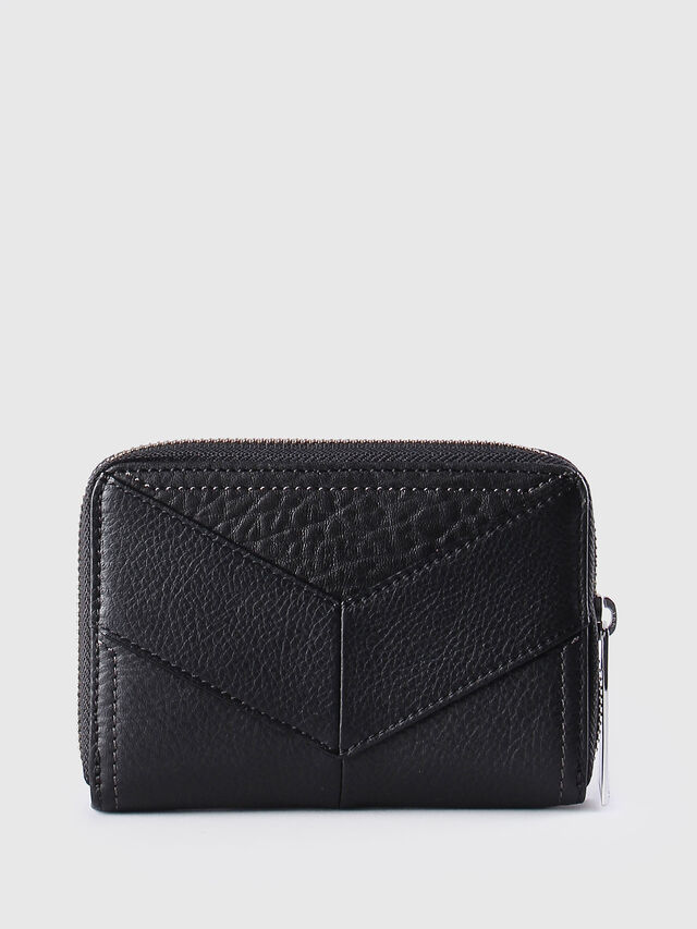 Diesel JADDAA, Black Leather - Small Wallets - Image 2