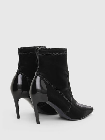 Diesel - D-SLANTY MABZC, Black - Ankle Boots - Image 3