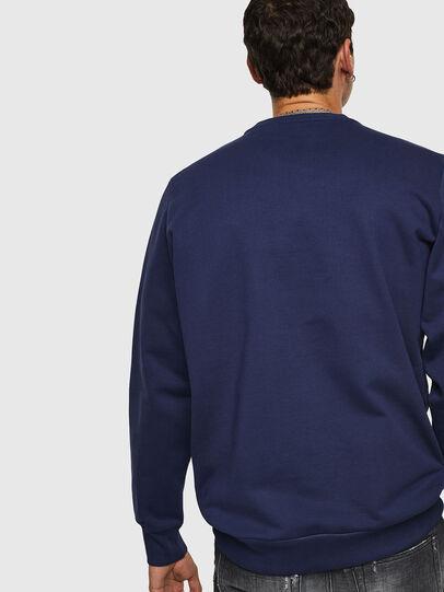 Diesel - S-GIR-B1, Blue - Sweaters - Image 2