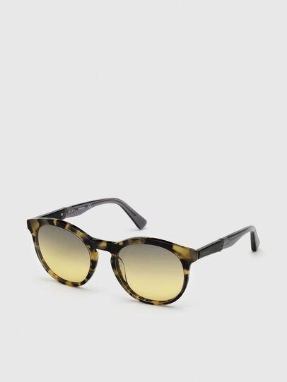 Diesel - DL0310, Black/Yellow - Sunglasses - Image 2