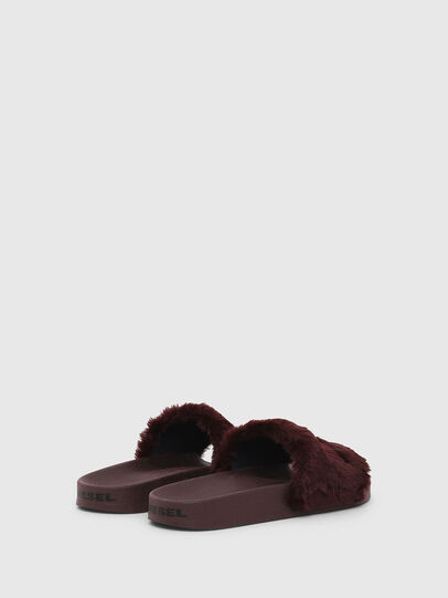 Diesel - SA-VALLA R W, Bordeaux - Slippers - Image 3
