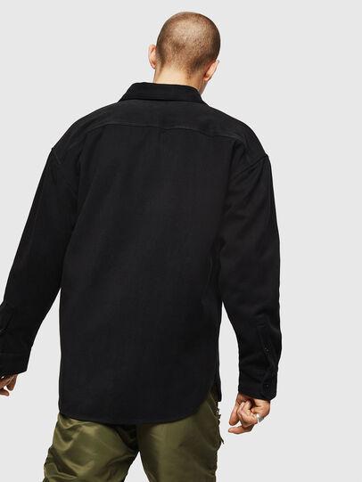 Diesel - S-LEBED, Black - Shirts - Image 2