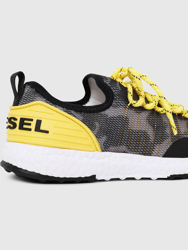 Diesel - SN LOW 10 S-K CH, Gray/Black - Footwear - Image 4