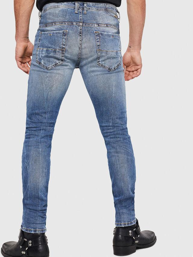 Diesel - Thommer 0090M, Light Blue - Jeans - Image 2