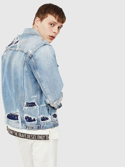 Diesel - NHILL-TM,  - Denim Jackets - Image 4