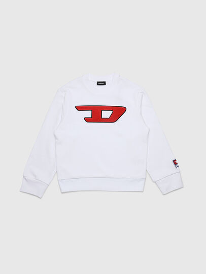 Diesel - SCREWDIVISION-D OVER, White - Sweaters - Image 1