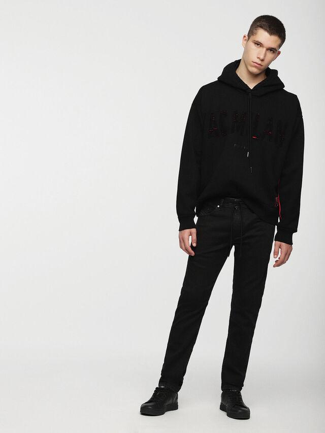 Diesel - DVL-SIZIP-CAPSULE, Black - Sweaters - Image 4