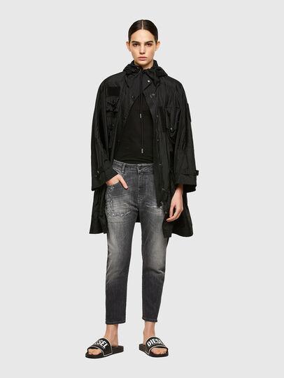 Diesel - Fayza JoggJeans® 009QT, Black/Dark grey - Jeans - Image 5