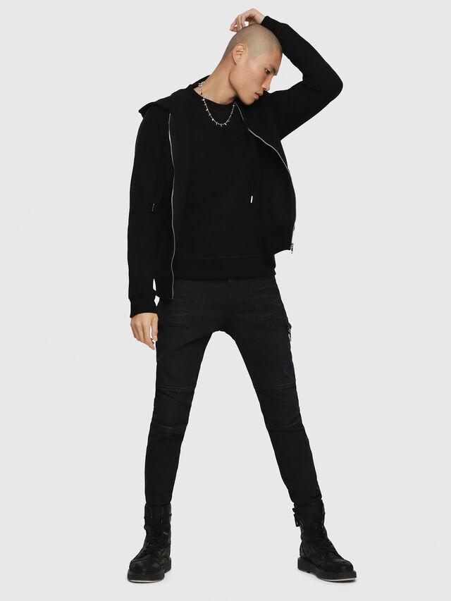 Diesel - S-GINA-J, Black - Sweaters - Image 4
