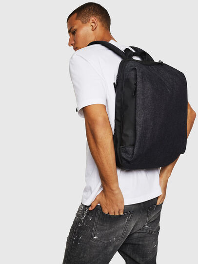 Diesel - D-SUBTORYAL BACK, Blue Jeans - Backpacks - Image 7