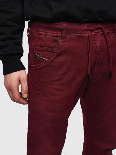 Diesel - Krooley JoggJeans 0670M, Bordeaux - Jeans - Image 4