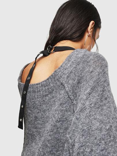 Diesel - M-NOELIA, Grey - Knitwear - Image 4