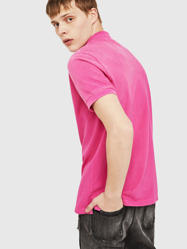 Diesel - T-NIGHT-BROKEN, Hot pink - Polos - Image 2