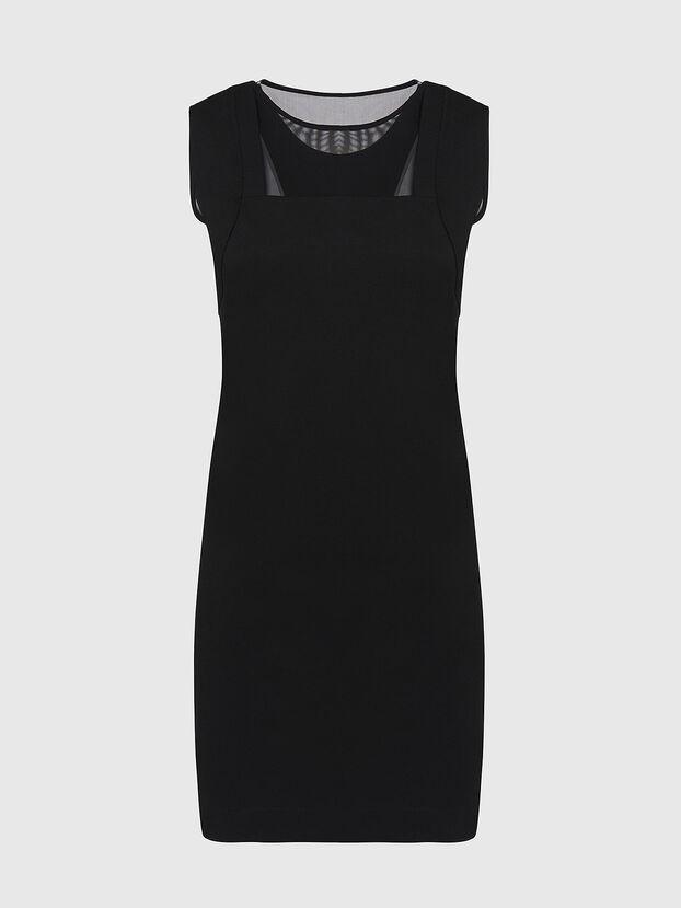 D-PLEADY, Black - Dresses