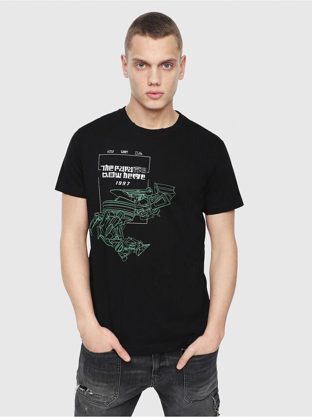 Diesel - T-DIEGO-Y4, Black - T-Shirts - Image 1