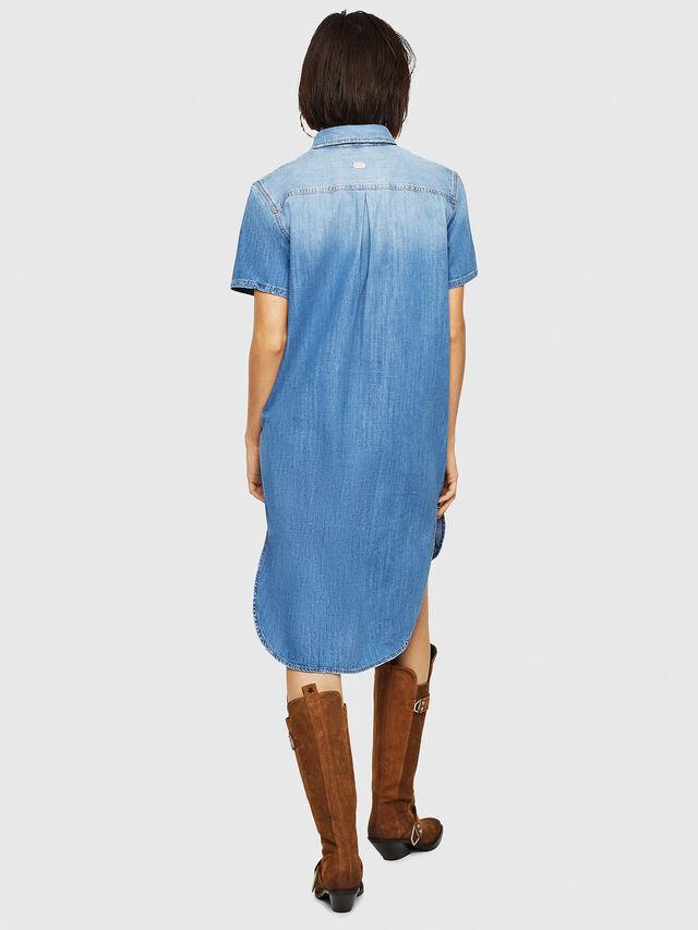 Diesel - DE-BLANCHE-SL, Blue Jeans - Dresses - Image 2