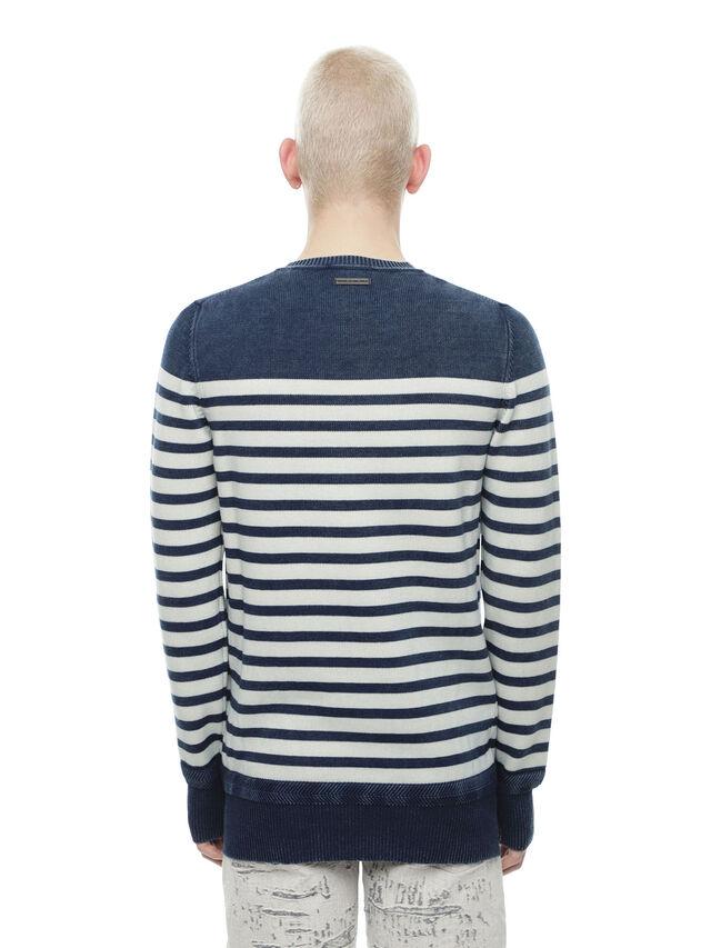 Diesel - KISTREET, Blue/White - Knitwear - Image 2