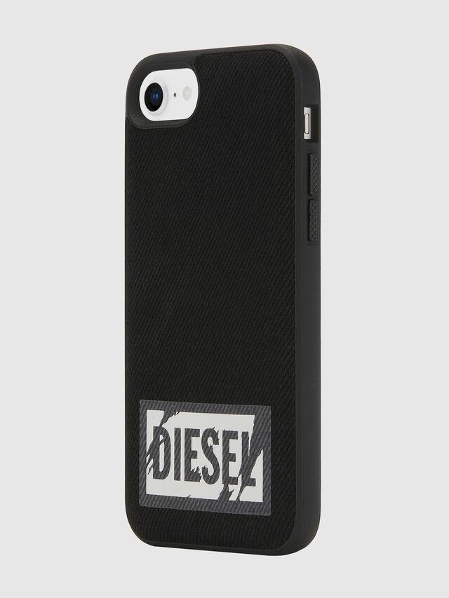 Diesel - BLACK DENIM IPHONE 8/7/6S/6 CASE, Black - Cases - Image 6