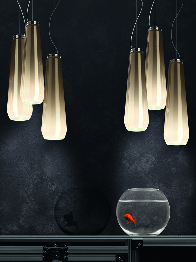 Living GLAS DROP, Grey - Hang Lighting - Image 4