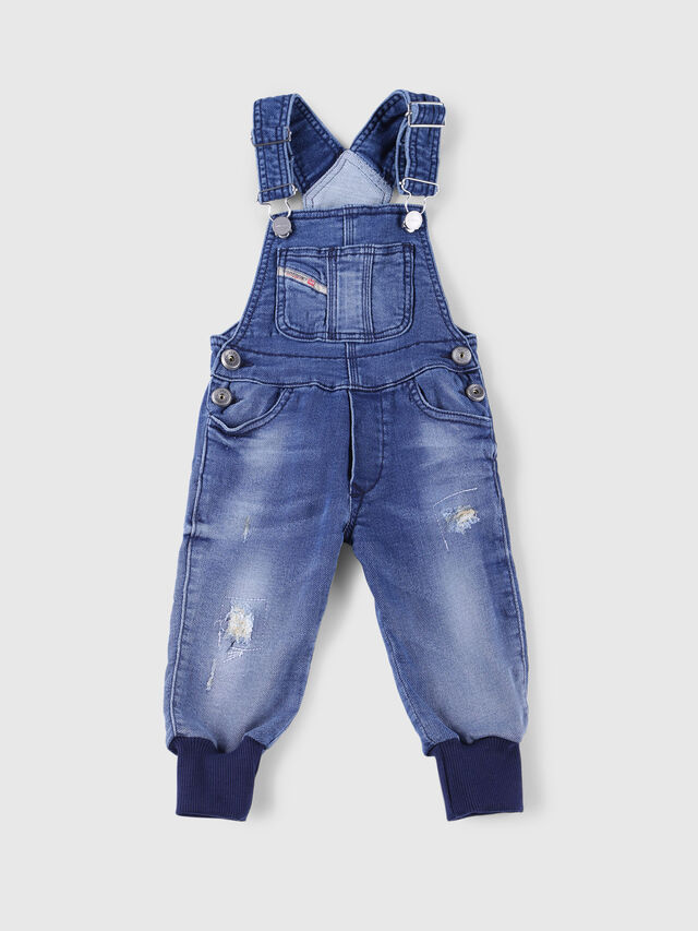 Diesel - PATHYB JOGGJEANS, Blue Jeans - Jumpsuits - Image 1