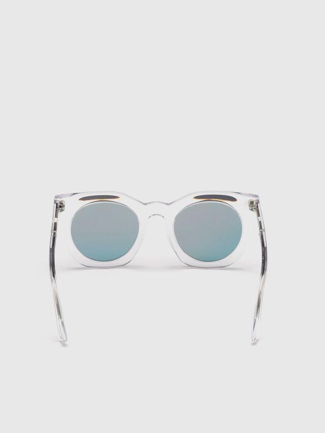 Diesel - DL0283, White - Sunglasses - Image 4