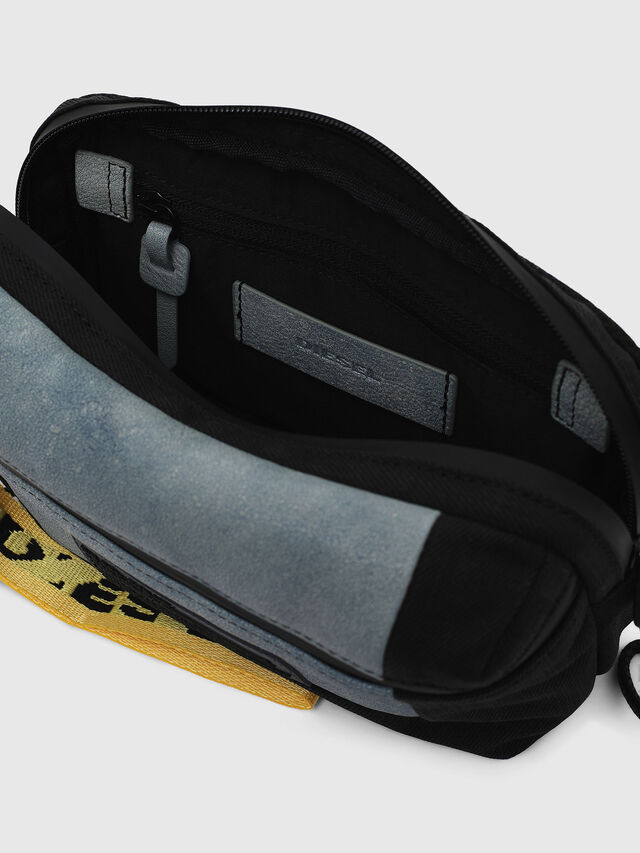 Diesel - L-TOLLE BELTBAG, Blue - Belt bags - Image 3