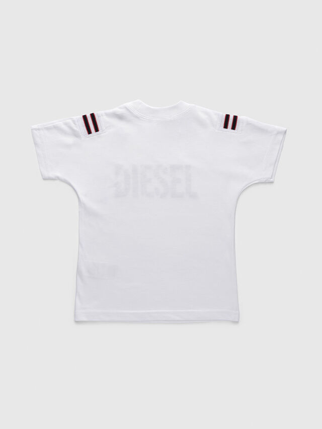 Diesel - TRYLLB-R, White - T-shirts and Tops - Image 2
