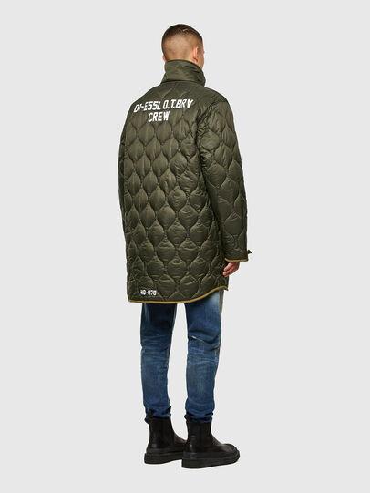 Diesel - W-STEVE, Military Green - Winter Jackets - Image 3