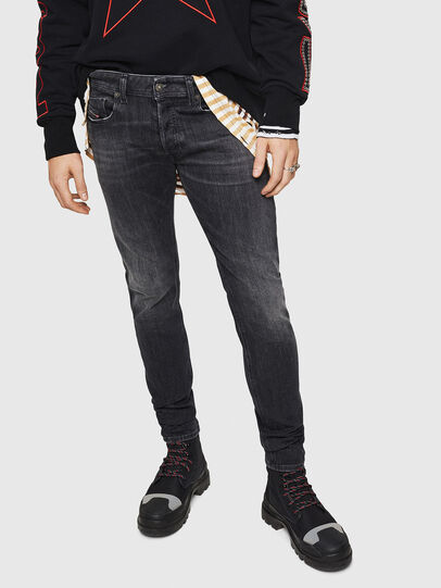 Diesel - Sleenker 084AT, Black/Dark grey - Jeans - Image 1