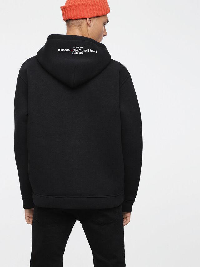 Diesel - S-GORDON-ZIP, Opaque Black - Sweaters - Image 2