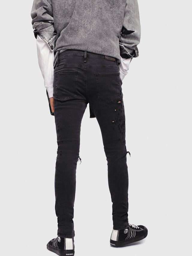 Diesel - D-Istort 085AW, Black/Dark grey - Jeans - Image 2