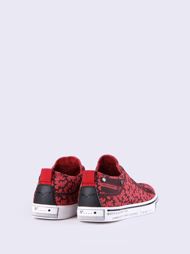 S-DIESEL IMAGINEE LOW SLIP-ON, Red