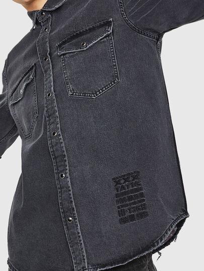 Diesel - D-ROOKE-L,  - Denim Shirts - Image 4