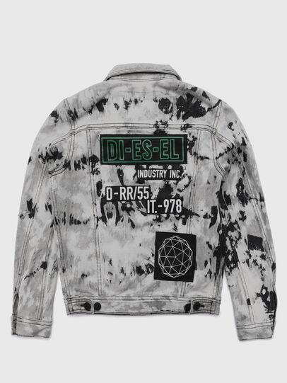 Diesel - JNHILL-SP, White/Black - Jackets - Image 2