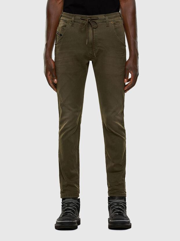 Krooley JoggJeans 0670M, Dark Green - Jeans