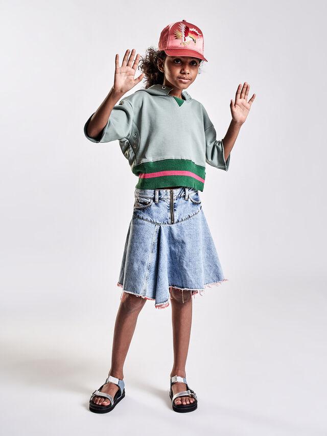 Diesel - GRINSKIRT, Blue Jeans - Skirts - Image 4