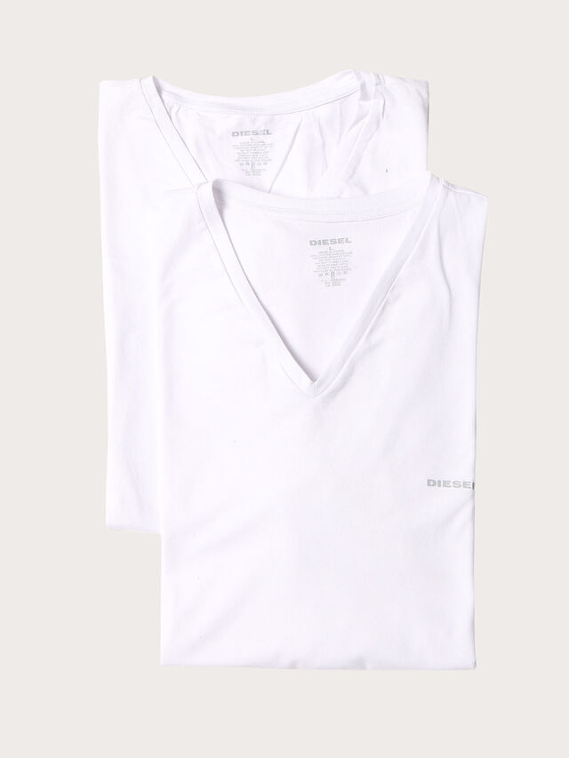 Diesel - UMTEE-MICHAEL2PACK, White - Tops - Image 1