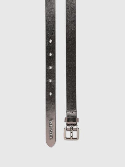 Diesel - B-LOWGO II, Silver - Belts - Image 3
