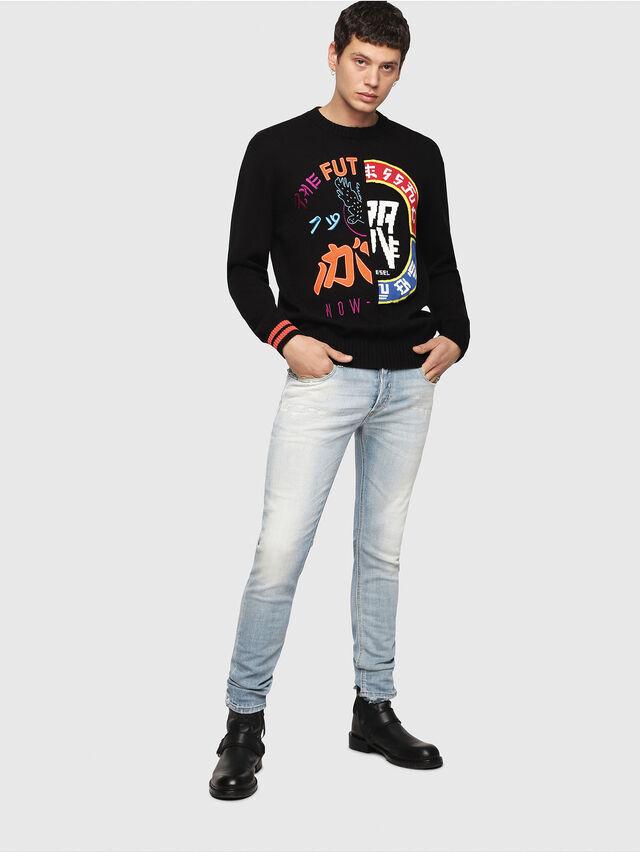 Diesel - K-FUT, Multicolor/Black - Knitwear - Image 5