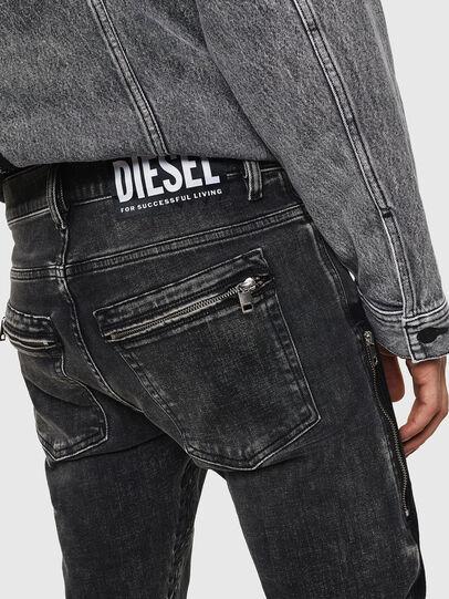 Diesel - D-Amny 0890T, Black/Dark grey - Jeans - Image 7