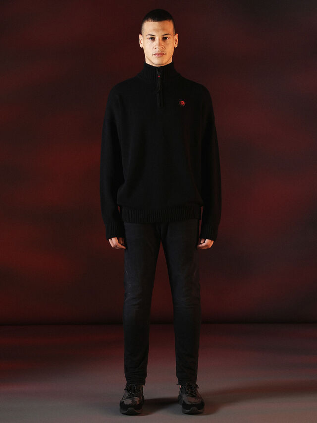 DVL-KNIT-SPECIAL COLLECTION, Black