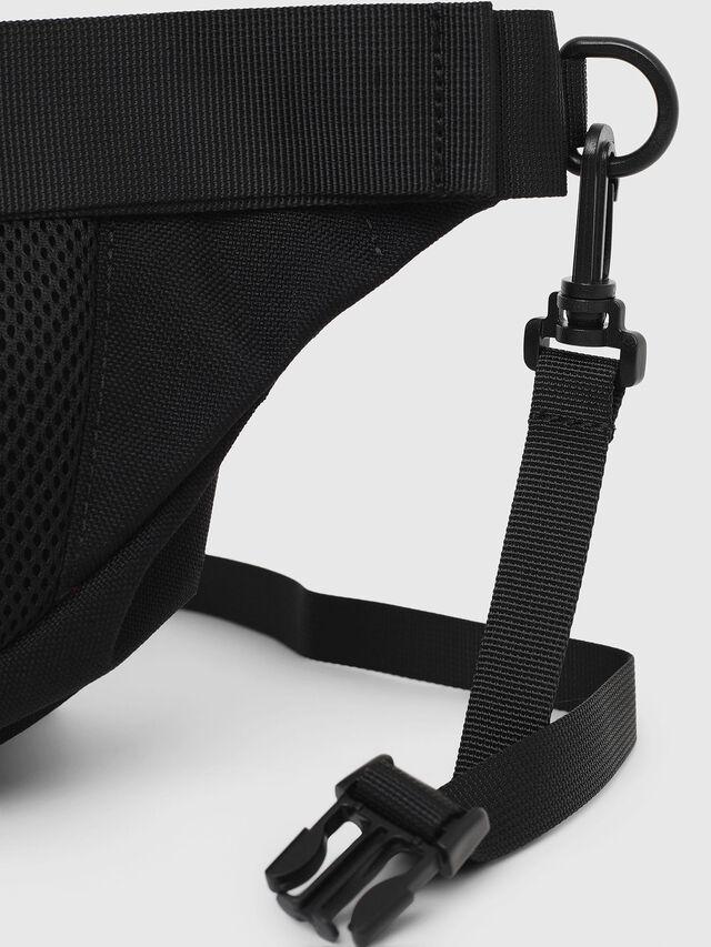 Diesel - F-URBHANITY BUMBAG, Black - Crossbody Bags - Image 5